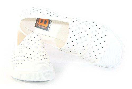 Nya Modekvinnor Skor Mode Sneakers Espadrille Båtar Moccasin Slip På Lägenheter Atletisk Vit Bansitantnai