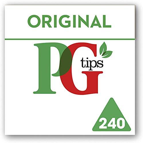 PG Tips Black Tea Pyramid Tea Bags - 240 Count