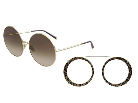 605ca6e7ec9 Amazon.com  Dolce   Gabbana Women s Round Leo Sunglasses