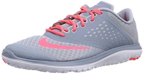 NIKE Women's FS Lite 2 Running Shoe, Light Magnet Grey/Hyper Punch/Magnet Grey, 9 B(M) US (Lite Womens Mesh)