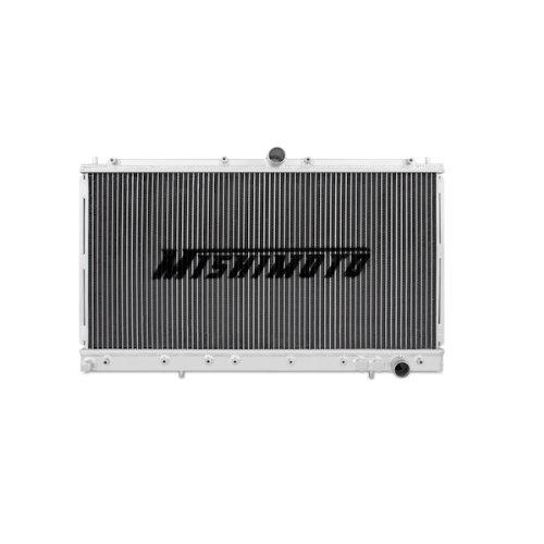 Performance Manual Radiator Aluminum (Mishimoto MMRAD-3KGT-91 Mitsubishi 3000GT Performance Aluminum Radiator, 1991-1999 Manual, Silver)
