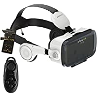 Virtual Reality Headset with Remote CLEVER BEAR BoBo VR Z4 3D Virtual Reality Headset Support Android iOS and PC Phones Series Smart Phones and Remote Controller