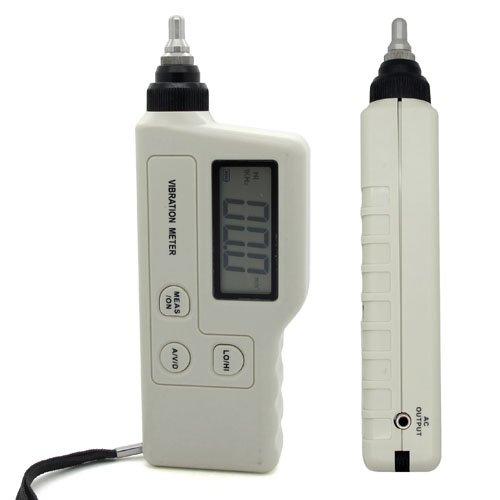 GM63A Portable LED Digital Vibration Sensor Meter Handheld Tester Vibrometer Analyzer Acceleration Velocity Gauge