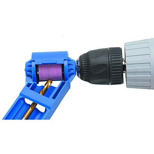 Hand Drill Bit Sharpener for Sharp Edge (5/64 in. to 1/2 ()