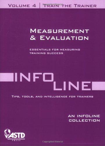 Train the Trainer Vol. 4: Measurement and Evaluation pdf epub