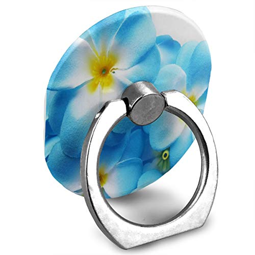 Hawaiian Ring Flowers (Cell Phone Holder Gallery Hawaiian Plumeria Flower Blue Ring Cell Phone Stand Adjustable 360 Degree Rotation Phone Stand for IPad, Phone X/6/6s/7/8/8 Plus/7, Galaxy S9/S9 Plus/S8/S7 Smartphone)