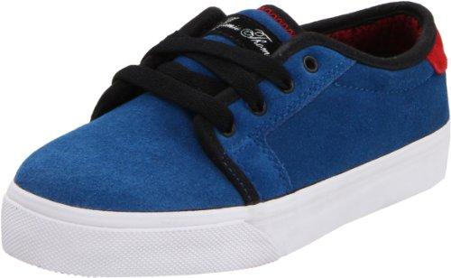 Fallen Forte Skate Shoe (Little Kid/Big Kid),Imperial Blue/Red,6 M US Big Kid