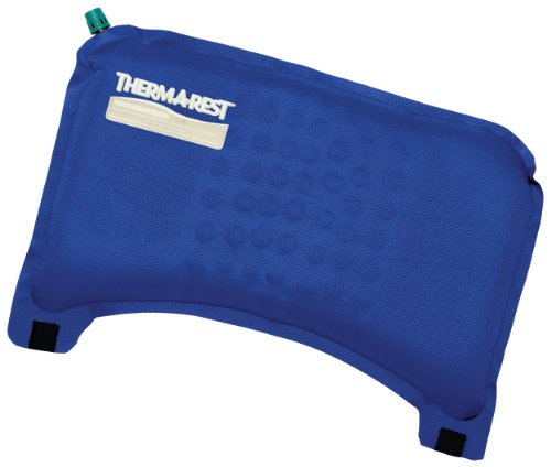 Therm-a-Rest 6434 Travel Cushion, Nautical Blue - Inflatable Travel Seat Cushion