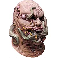 Ghoulish Writhing Corruption Latex Mask Creature Fangs Halloween Accessory