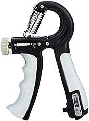 SUSHUN Counting Hand Grip Strengthener Forearm Grip Workout Kit, Adjustable Resistance