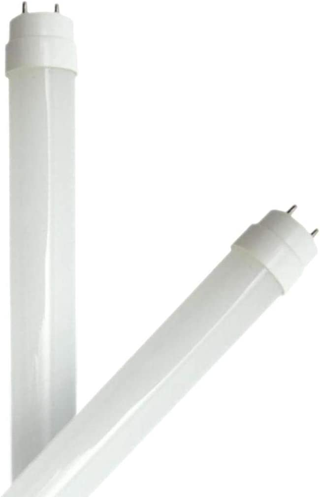 GE 26405 - LED12ET8G/840 2PK 1500LM T8 LED Glass Tube 4 Foot LED Straight T8 Tube Light Bulb for Replacing Fluorescents