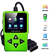 Car Code Reader OBD2 Scanner Engine Fault Car Scan Tool Check Engine Light I/M Readiness DTC Look...