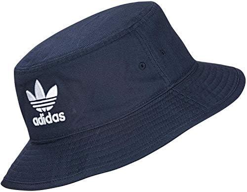 Taglia Unica adidas CLSC Bucket Hat Cappellino Unisex Adulto Nero//Bianco