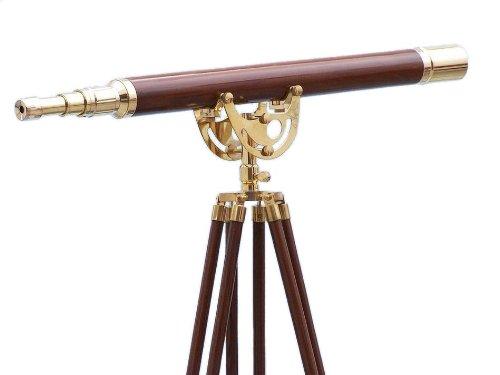 Floor Standing真鍮/木製Anchormaster望遠鏡65