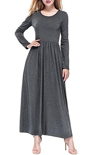 Gray Long Dress - 7