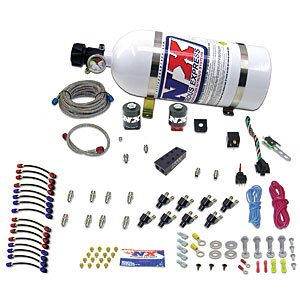 0 80-120-150 HP Universal NXL System with 10 lbs. Bottle for V-8 Engine (Nxl System)