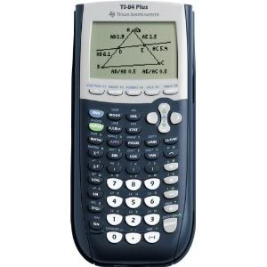 TI-84 Plus Graphing Calculator, 10-Digit LCD Graph Algebra Scientific Graphic TI84 TI 84 Virtual Caculator Graphic New Gadget by GADGETS-R-US
