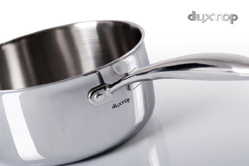 Secura Duxtop Whole-Clad Tri-Ply Stainless Steel Induction Ready Premium Cookware with Lid, 3 Quart by Secura (Image #2)