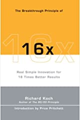 The Breakthrough Principle of 16x Paperback