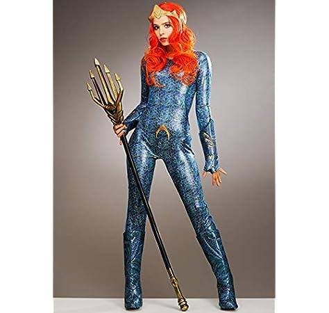 Magic Box Disfraz de Aquaman Mera para Mujer Small (UK 8-10 ...