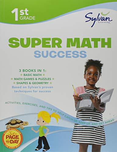 Math 1st Books Grade (1st Grade Jumbo Math Success Workbook: Activities, Exercises, and Tips to Help Catch Up, Keep Up, and Get Ahead (Sylvan Math Jumbo Workbooks))