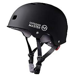 OutdoorMaster Skateboard Helmet - CPSC C...