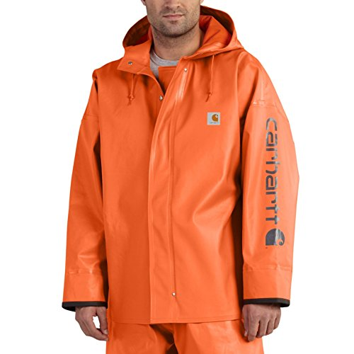 Gear Rain Carhartt - Carhartt Men's 102082 Belfast Coat - Medium Regular - Orange