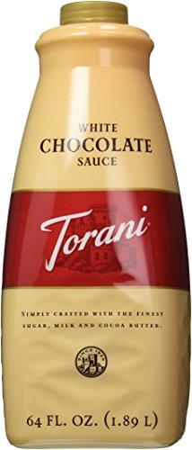 Torani White Chocolate Sauce, 64 Ounce (White Chocolate For Coffee)