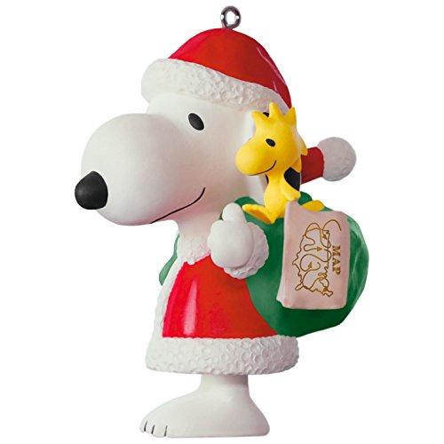 Hallmark Keepsake 2017 PEANUTS Spotlight on Snoopy 20th Anniversary Porcelain Christmas - Malls In Jolla La