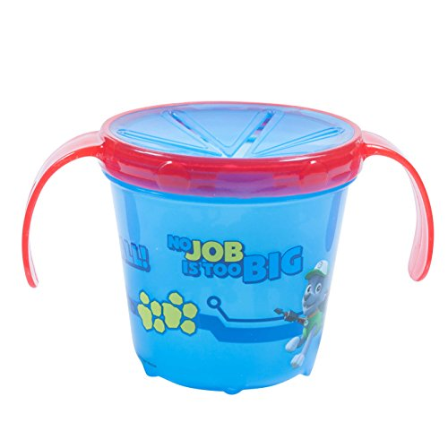 Baby Snack Catcher Cup, Blue Paw, 1-Pack