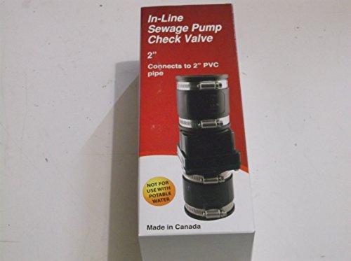 ProPlumber Plastic Check Valve Item#184210 Model#PPSPC-200 U