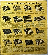 UPC 798280005562, History of Famous American Flags