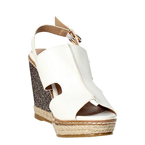 Laura Biagiotti 1061 Sandal Damen Weiß