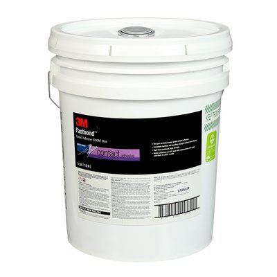 3M (2000NF) Contact Adhesive 2000NF Blue, 270 Gal. Tote, Returnable Poly w/Cage