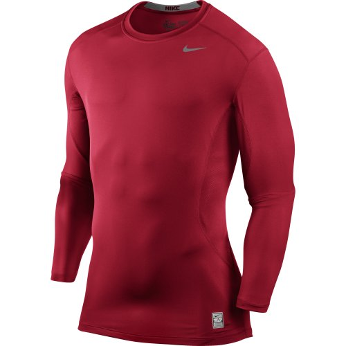 Nike Core Fitted LS Top 1.2 - Red - X-Large 449788-649-XL