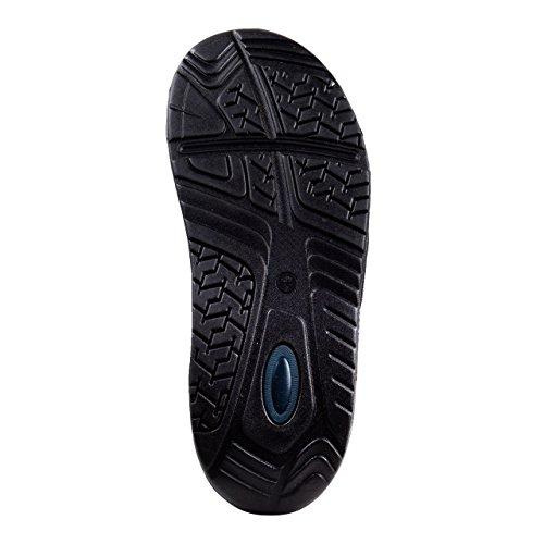 Wellness Comfort Zapatillas abroll Mujer de la Salud Efecto Gris gris