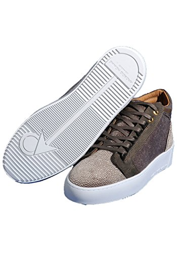 Android Homme 628425326619, Herre Sneaker Brun & Taupe Taupe