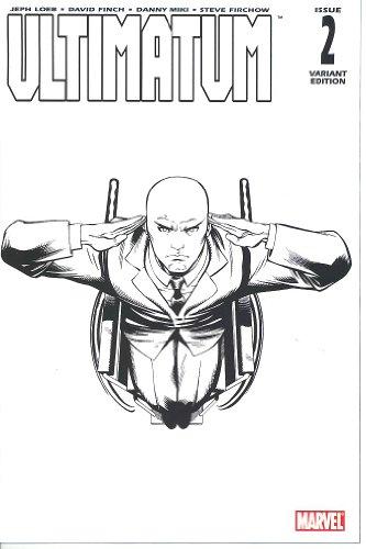 Ultimatum #2 McGuinness Sketch Variant Cover (Ultimatum) (Ultimatum)