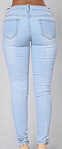 Jeans Hellblau Donna Shelers Shelers Hellblau Jeans Donna xawqnR0E6O