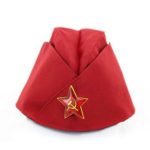 Russian Army Cap Tricorne Green Camo Bonnet Star Logo Women Sailor Military Stage Performance Dance Hats Chinese Boat Caps 11