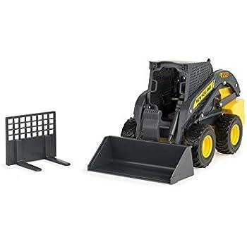 Amazon Com Ertl Big Farm New Holland L225 Skid Steer Loader Vehicle