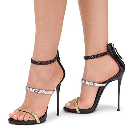 cómodos Tacones altos mujeres bombas vestidos B luchan de las sandalias vestir que 88HAcq6pa