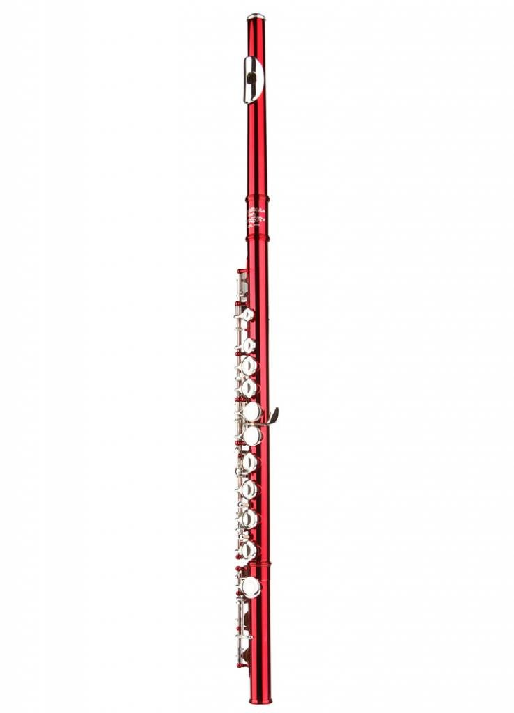 Glory Closed Hole C Flute With Case, Tuning Rod and Cloth,Joint Grease and Gloves Nickel/Laquer--More Colors available,Click to see more colors MUS267098