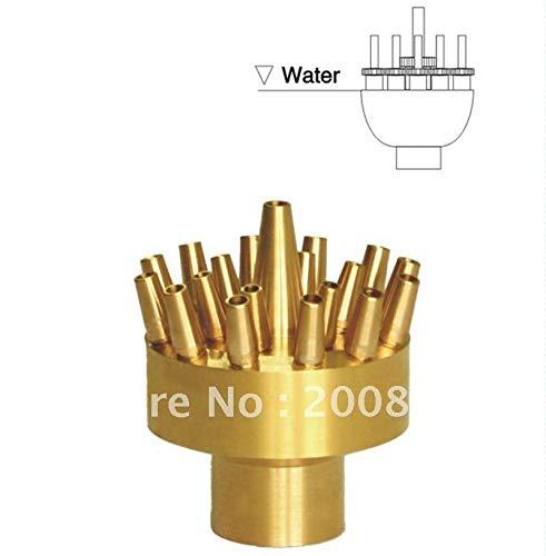 Maslin 1'' Non-Adjustable Three Layer Fountain Nozzle/Pond Fountain Heads