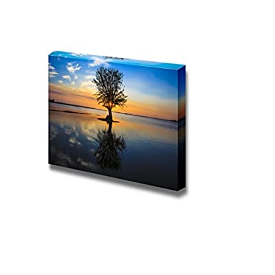 Alluring Artisanship, Quiet and Peaceful Place to Relax in The Evening Wall Decor, Premium Creation