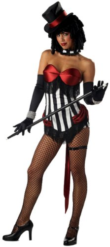 Sexy Burlesque Ringmaster Costume - Large