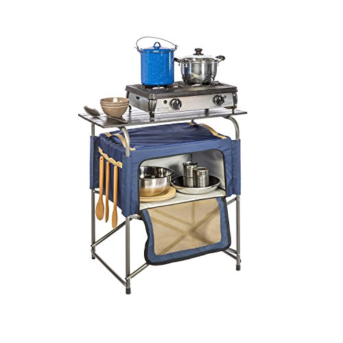 Kamp-Rite EZ Prep Table with Insulated Bag by Kamp-Rite