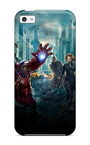 Avengers Vs Justice League Fashion Tpu 5c Case Cover For Iphone