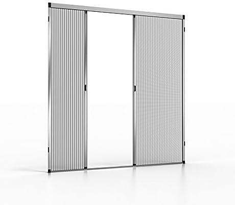 noflystore Platinum. 02 medida plisada Fly pantallas para puertas ...
