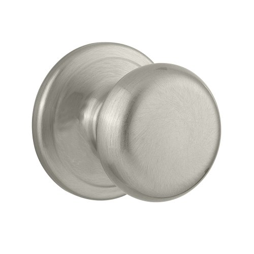 Kwikset Juno Hall/Closet Knob in Satin Nickel